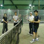 ナイターテニス